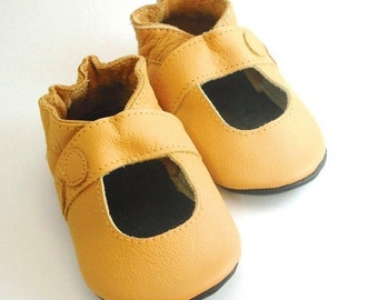 soft sole baby shoes handmade infant gift sandal yellow 2-3 years ebooba SN-12-Y-M-5