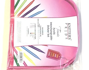 Knitters Pride Spectra Trendz Acrylic Interchangeable Deluxe Knitting Needle Set Discontinued