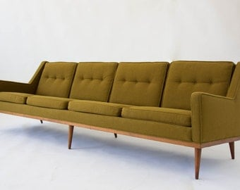 Articulate Sofa by Milo Baughman for James, Inc