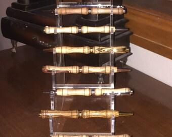 10 Custom Wooden Pens