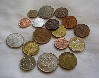 Foreign Coin Collection Destash Lot