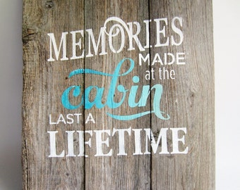 rustic pallet sign reclaimed wood sign turquoise home decor wooden wall art hand painted quotes cabin barn board beach driftwood gift ideas