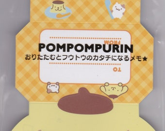 Sanrio Original Pompompurin Folding Papers for Mini Envelopes (313416)