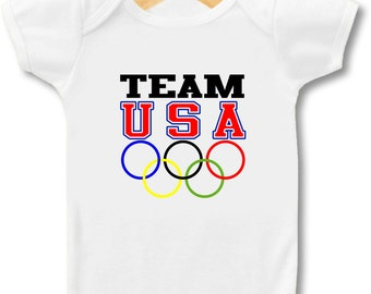 Team USA Olympics - Bodysuit & T-shirt