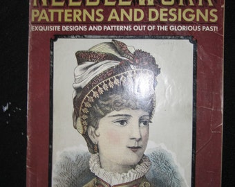 Olde TIme Needlework Patterns and Designs March 1975