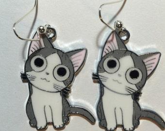 Kitty Earrings