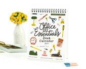 Office Essentials Desk Calendar 2017
