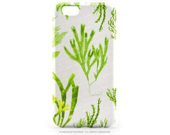 iPhone 7 Case Green Coral iPhone 7 Plus Case iPhone 6s Case iPhone SE Case iPhone 6 Case iPhone 5S Case Galaxy S7 Case Galaxy S6 Case I154