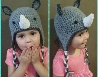 PDF: Rhino Earflap Hat