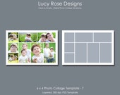 6 x 4 Photo Collage Template - 7