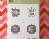 Stampin'Up! Stamp set. Tags 4 you.