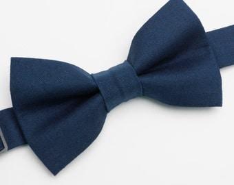 Bow Tie - Navy Blue Bowtie