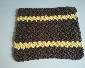 Dish/Wash Cloth handmade using 100% Cotton yarn Ready To Ship