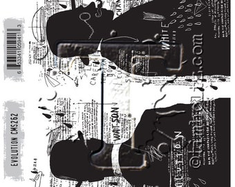 Stampers Anonymous - Tim Holtz - Evolution Stamps