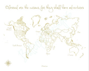 il_340x270.1060593556_mvcn Pinnable World Map on professional map, cork board map, metal map, cloth map, world map,