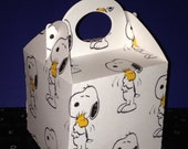 12ct Snoopy and woodstock inspried mini gable boxes (Please review size before purchase)