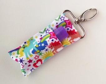 Lip Balm Holder - Chap Stick Holder - USB Holder - Unicorns, Stars, and Hearts