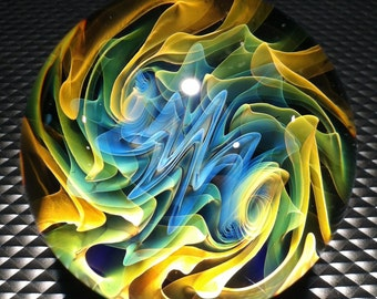 Borosilicate Glass Marble By Jason Holley