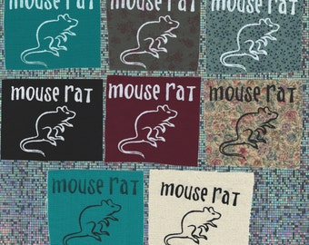 Mouse Rat-inpsired Screen-Printed patch