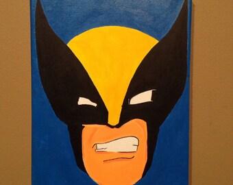 Wolverine inspired portrait