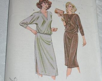 Kwik Sew 982 Misses Tops and Skirt Sewing Pattern - UNCUT - Sizes 14 16 18 20
