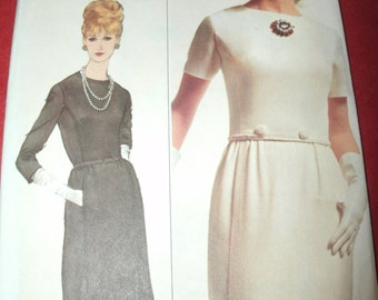 UNCUT and FF Pattern Pieces Vintage 6118 Simplicity Sewing Pattern Size 10