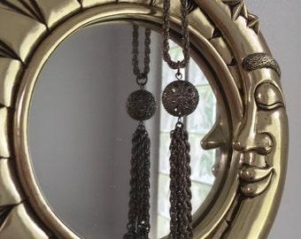 1970's Boho Vintage Tassel Necklace
