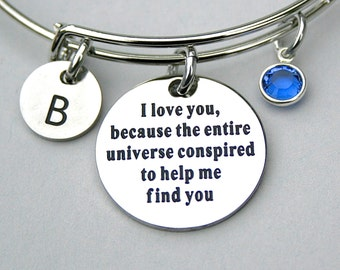 Stainless steel charm i didn 39 t give you the by myinitialcharm for The universe conspires jewelry