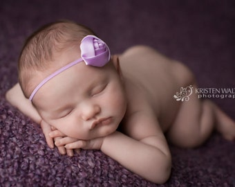 FREE SHIPPING! Lavender Headbands, Lavender Baby Headbands, Baby Headbands, Newborn Headbands, Petite Headbands, Photography Props