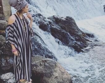 Stripe Goddess Dress