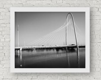 Dallas Wall Art, Dallas Art, Dallas Photography, Dallas Art Print, Margaret Hunt Hill Bridge, Dallas Photos, Dallas Bridge