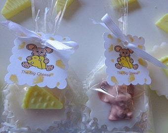 20 Big Cheese Soap Favors, Job Promotions, Company Parties, Birthdays, Special Occasion Party Favors