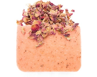 Rose Soap, Handmade Soap, All Natural Soap, Soap Bar, Homemade Soap, Cold Process Soap, Olive Oil Soap, Vegan Soap, Natural Soap, 4 - 5 oz