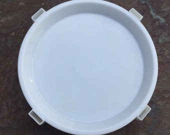 Vintage Tupperware Divide A Rack Stacking Tray in White 511