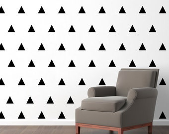 Triangle Pattern Wall Decals