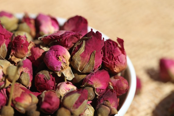 Herbal Infusion - Dried Rosebud Loose Leaf Tea