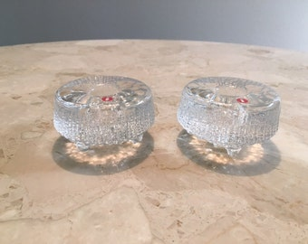 Mid Cenutry Iittala candle holders