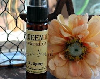 FRESH STRAWBERRY - Dry Oil Body Mist - Silky Perfume Spray - Hair/Body Safe