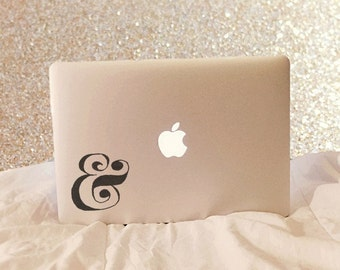 Ampersand, Laptop Stickers, Laptop Decal, Macbook Decal, Car Decal, Vinyl Decal