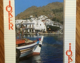 Souvenir Vintage Deck of Cards from Greece