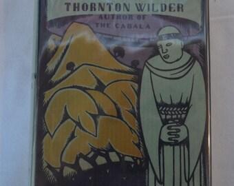 The Bridge of San Luis Rey Thornton Wilder Hardcover Signed Dust Jacket 1928