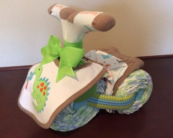 Diaper Tricycle/Dino