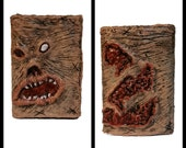 Necronomi_Wallet- One of a kind, custom made polyester wallet with a silicone twist