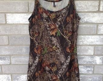 camouflage babygirl nightie dress oversized