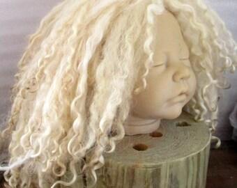 Doll Wig in Light Blonde Teaswater Locks