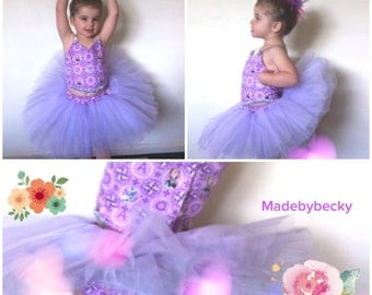 The Ballet Bodice Top Sewing Pattern and Tutorial - Girls Size 2-5 PDF