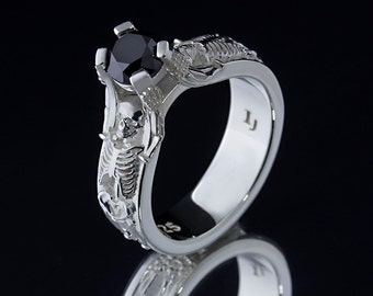 The Skeleton Ring - .925 Sterling Silver