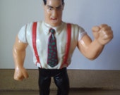 Vintage WWFWWE IRS Irwin R Schyster Action Figure Hasbro Wrestling Action Figure 1992
