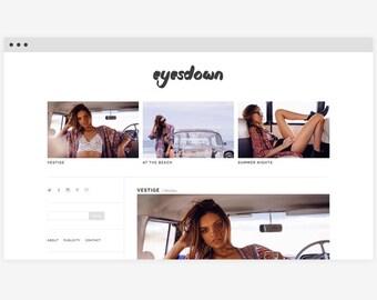 Wordpress template 'Eyesdown'