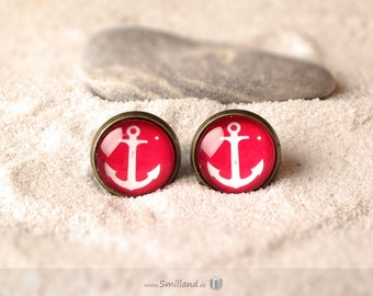 Studs Anker red-white